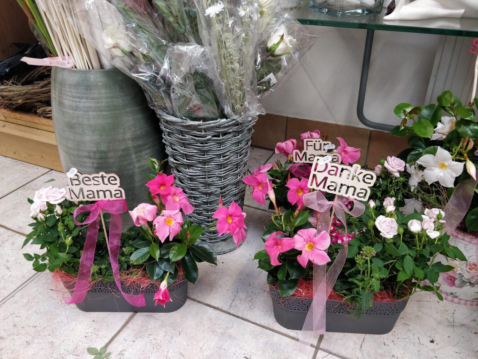 Blumenkiste für den Muttertag